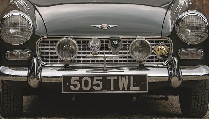 Black Number Plate- Vehicle Number Plate