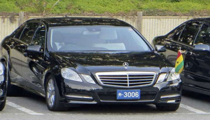Blue Number Plate Car- Vehicle Number Plate