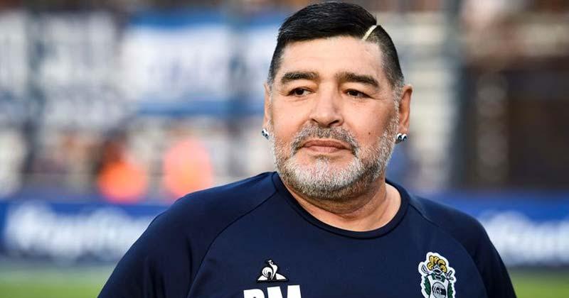 Diego Maradona Footballer
