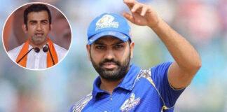 Gautam Gambhir Says Shame If Rohit Sharma Is Not Captain