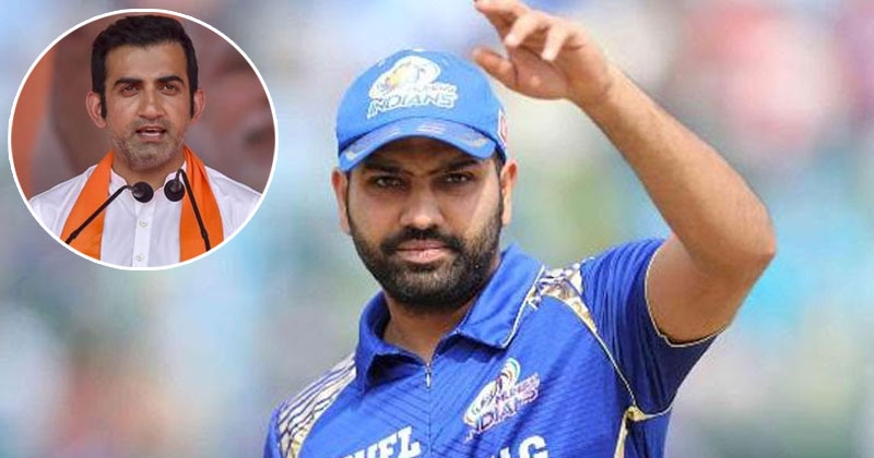 Gautam Gambhir Says Shame If Rohit Sharma Is Not Captain