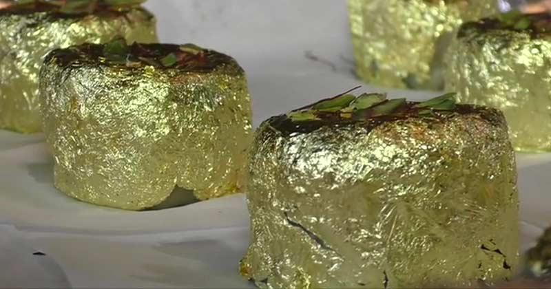 Gold Sweet Named Gold Ghari