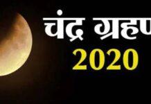 Lunar Eclipse November 2020