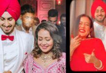 Neha Kakkar Fun On Karva Chauth With Rohanpreet Singh