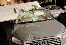Teen Crashes Audi Into House