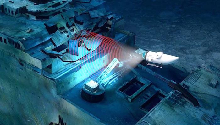 Underwater Titanic