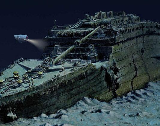 Underwater World Historic Site Titanic