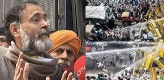 Yogendra Yadav Detained In Gurugram