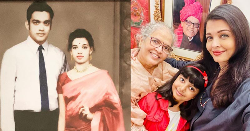Aishwarya Rai Share Photos On Her Parents Anniversary