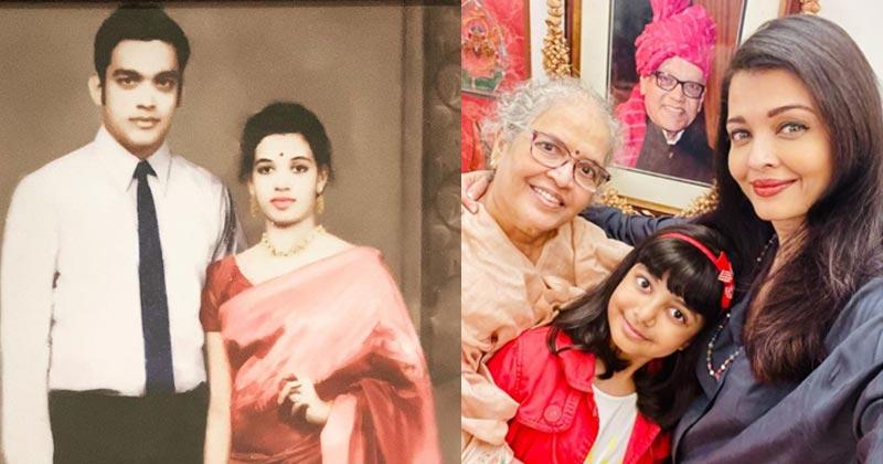 Aishwarya Rai Share Photos On Her Parents Anniversary