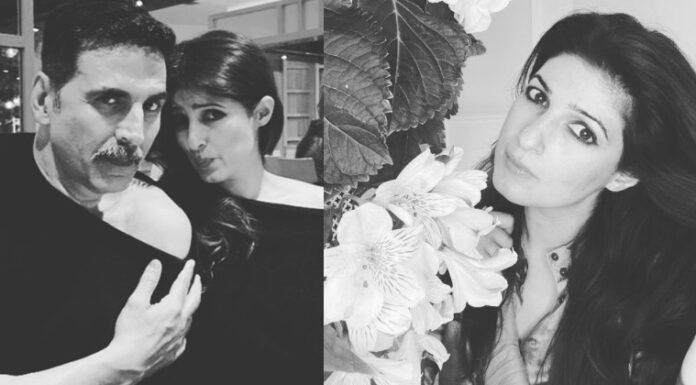 Akshay Kumar Copy Wife Twinkle Khanna Dress