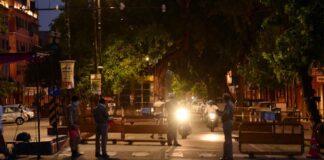 Delhi Curfew At Night