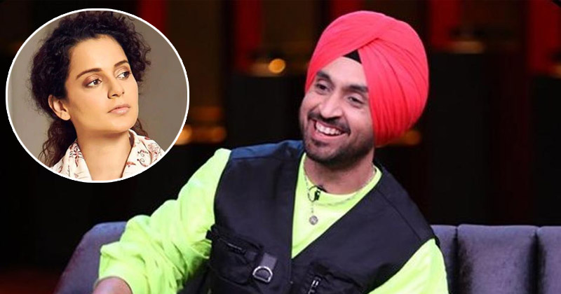 Diljit Dosanjh Hits Back After Kangana Ranauts