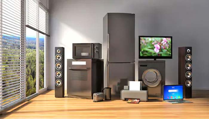 Electronic Home Appliances Price Goes High