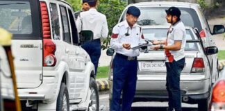 High Security Registration Plates Challan In Delhi NCR