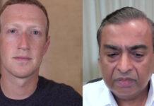 Mukesh Ambani Mark Zuckerberg Conversation