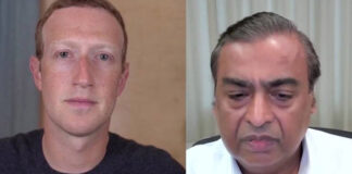 Mukesh Ambani Mark Zuckerberg Conversation