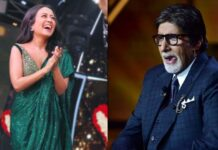 Neha Kakkar Imitates Amitabh Bachchan On Indian Idol Set