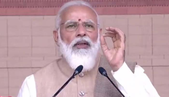 PM Modi On Central Vista Project