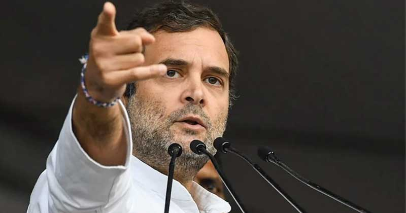 Rahul Gandhi Tweets Under PM Narendra Modi