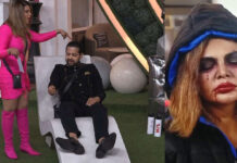 Rakhi Sawant With Rahul Mahajan In Bigg Boss 14