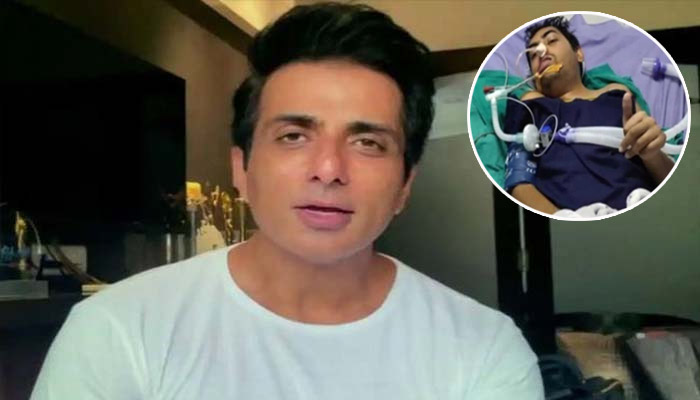Sonu Sood Helps Handicapped Person Aman