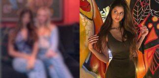 Suhana Khan Pose In Galamorous Style