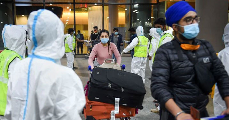 UK Returnees Found Positive Coronavirus New Strain In India