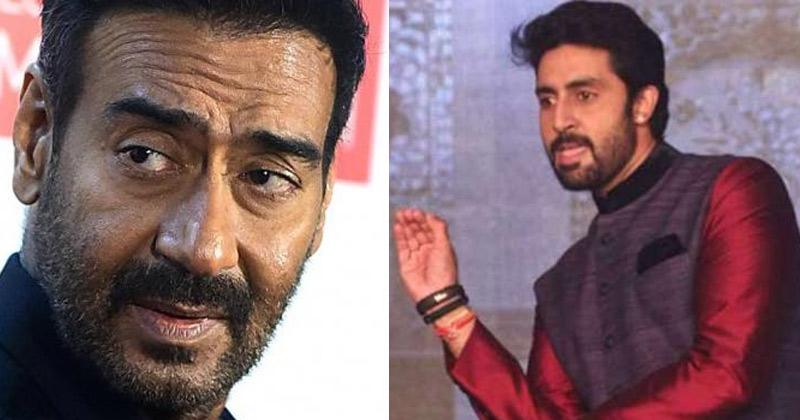 Ajay Devgan With Abhishek Bachchan
