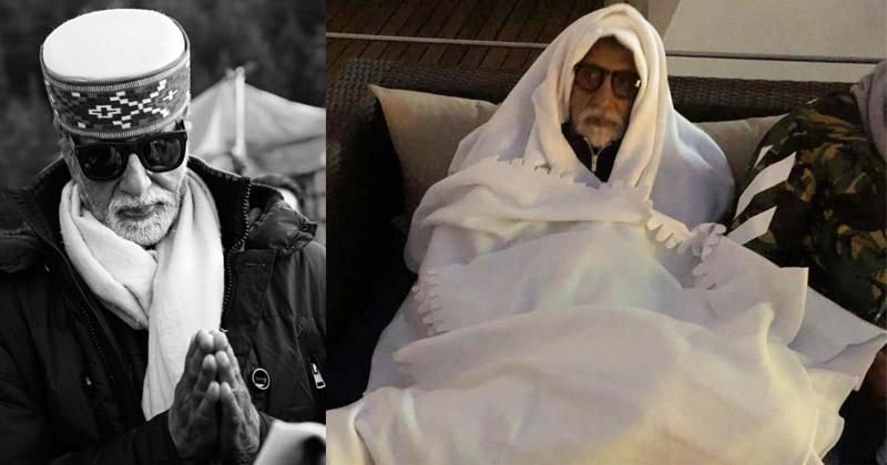 Amitabh Bachchan In Ladakh