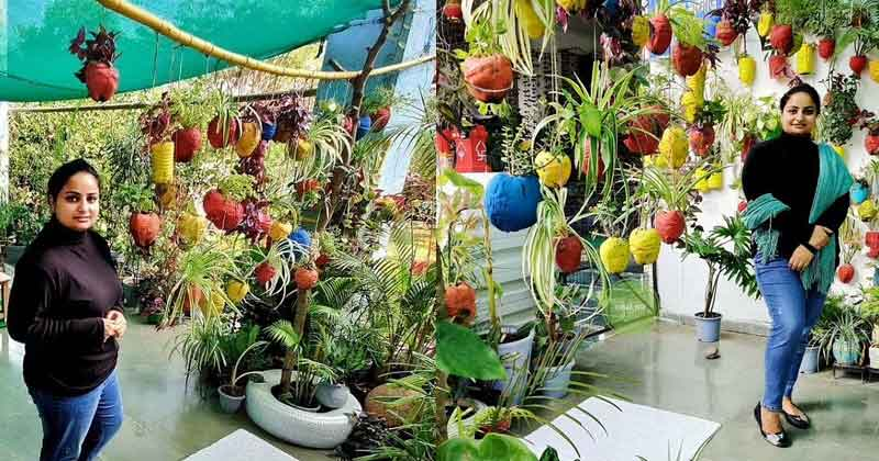 Bhopal Woman Sakshi Bhardwaj Grows Exotic Plants