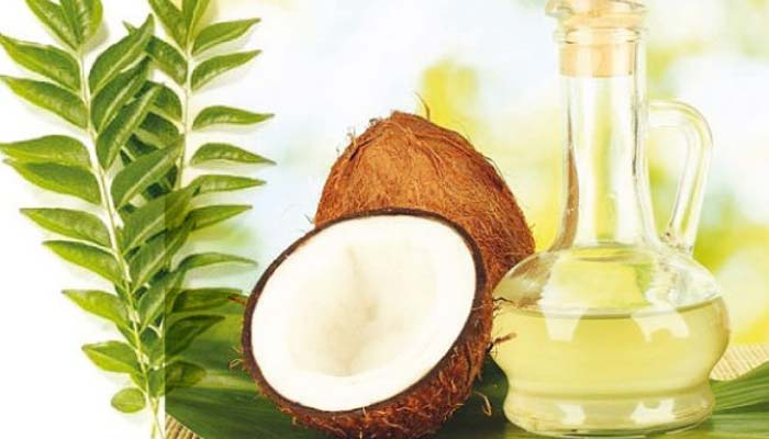Coconut Oil And Curry Leaves - Home Remedies For Grey