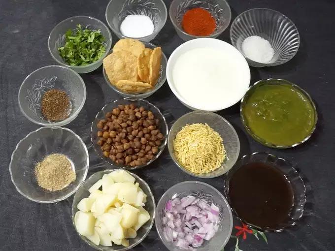 Dahi Papdi Chaat Ingredients
