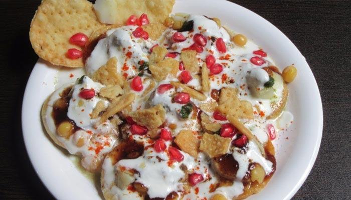 Dahi Papdi Chaat Recipe In Hindi