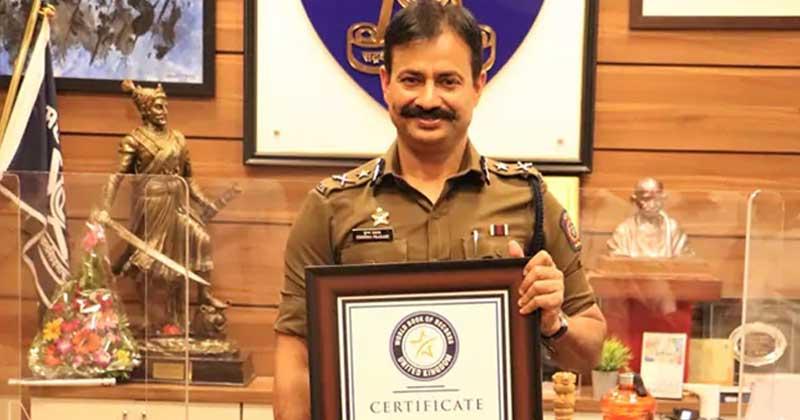 Krishna Prakash Gets Name In World Book Of Records