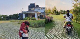 MS Dhoni Farm House Pictures