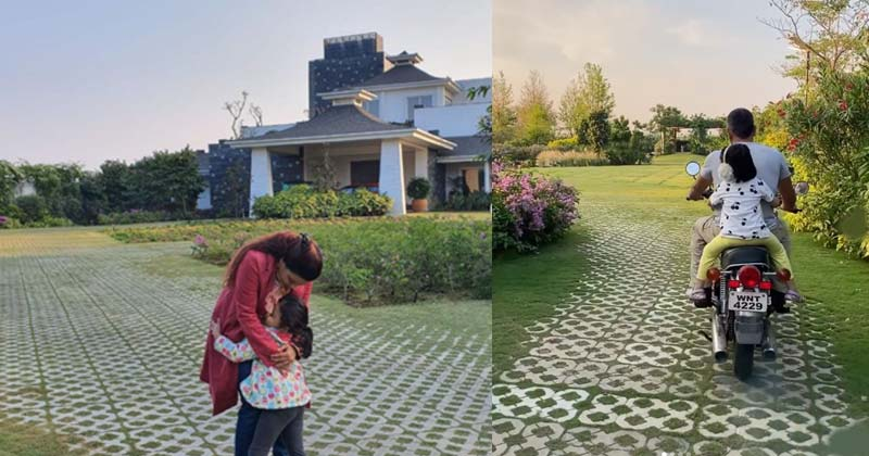MS Dhoni Farm House Pictures