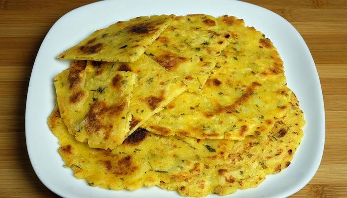Makki Ki Roti - Lohri Recipes