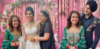 Neha Kakkar Celebrating Her First Lohri After Marriage