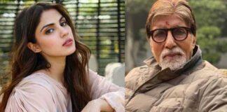 Rhea Chakraborty With Amitabh Bachchan