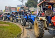 Tractor Parade On Recpublic Day