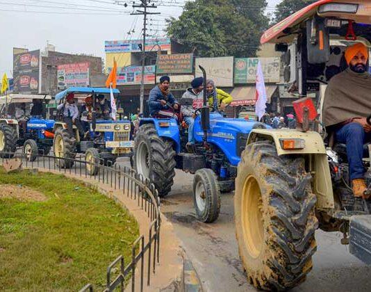 Tractor Parade On Recpublic Day