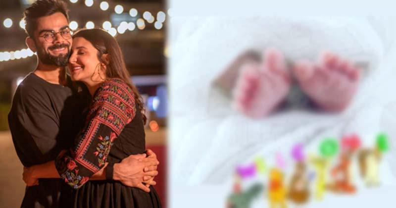 Virat Kohli Share Baby Girl First Image