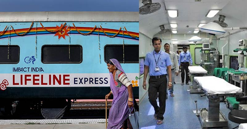 World First Hospital Train Lifeline Express
