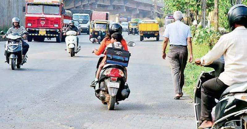 Wrong Side Driving In Gurugram