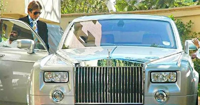 Amitabh Bachchan Car Rolls Royce