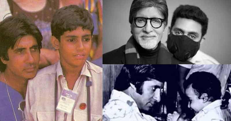 Amitabh Bachchan Wishes Abhishek Bachchan Birthday