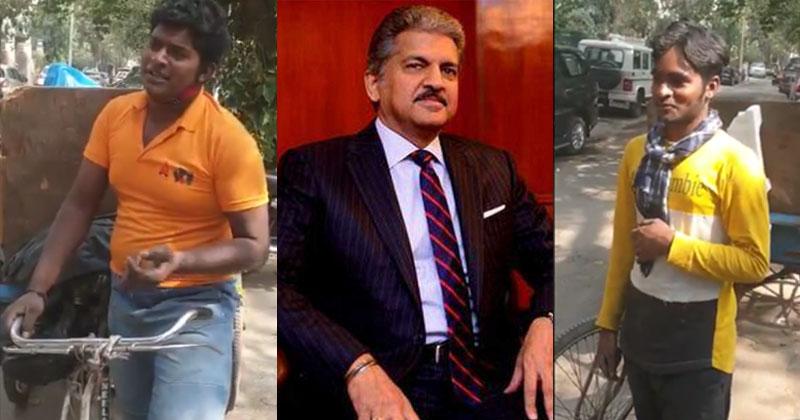 Anand Mahindra Supports Garbage Pickers Hafiz And Habibur
