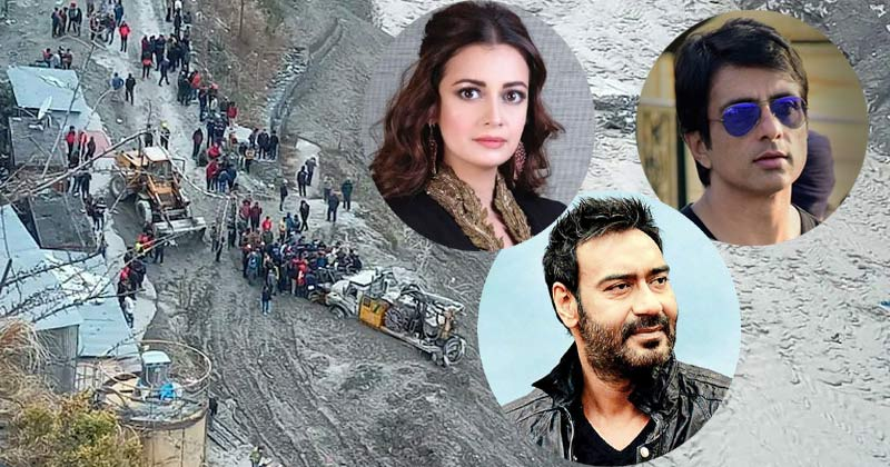 Celebs Reaction On Uttarakhand Glacier Burst Tragedy