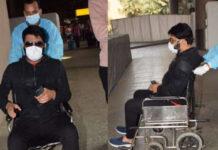 Kapil Sharma On Wheelchair